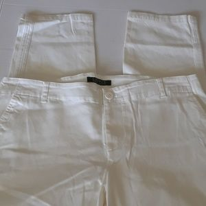 Ralph Lauren Cropped White Pants Size 10